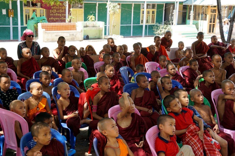 Ecole de bouddhas