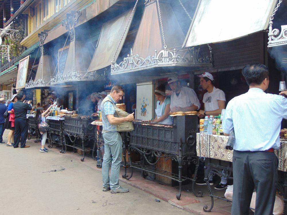 Restaurants sur le  marché