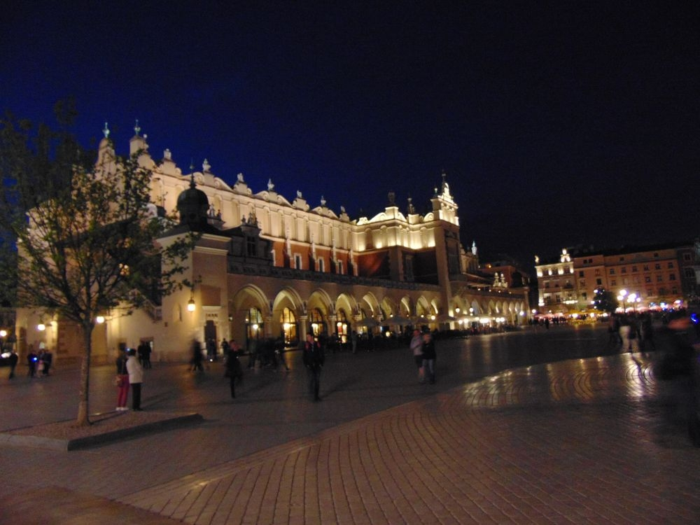 La Rynek le soir